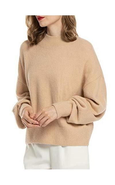 Woolen Bloom Basic Oversized Sweater