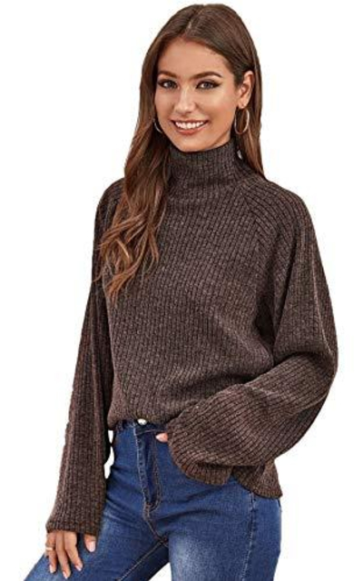 ROMWE Knitted Sweater
