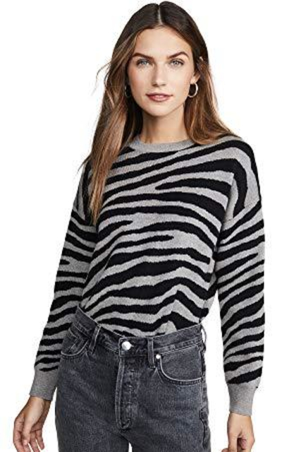J.O.A. Zebra Stripe Sweater