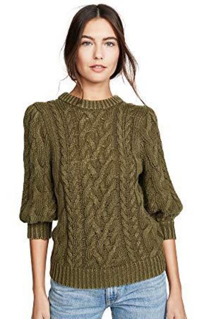 525 America Puff Sleeve Sweater