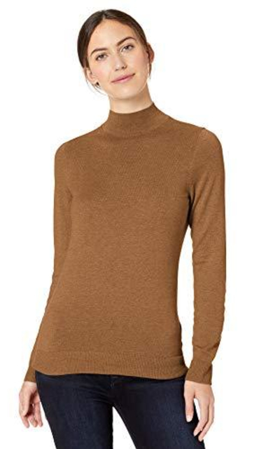 Amazon Essentials Lightweight Mockneck Sweater
