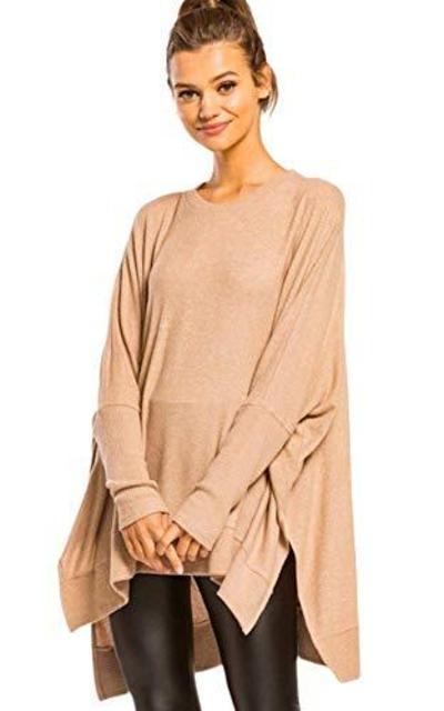 Sweater Tunic Top