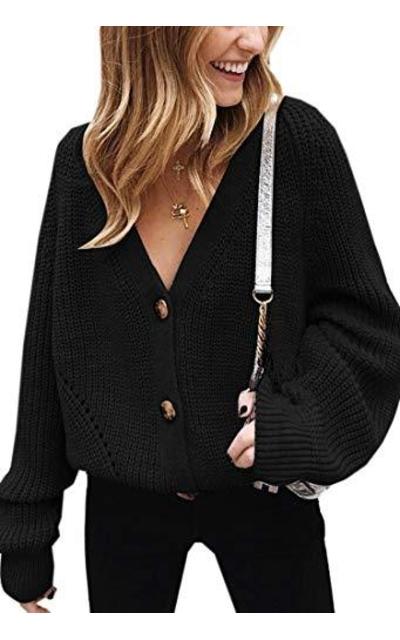 Angashion Cardigan Sweater
