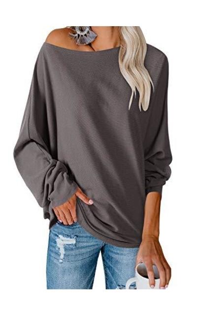 Ofenbuy Oversized Knit Tunic Top