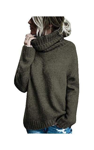 Beautife Turtleneck  Sweater Pullover