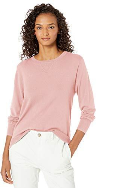 Amazon Brand - Daily Ritual Fine Gauge Stretch Sweater