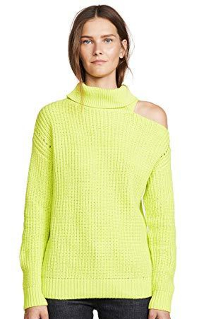 ASTR the label Sepulveda Turtle Neck Cut Out Sweater