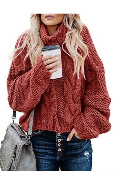 FARYSAYS Turtleneck Sweater