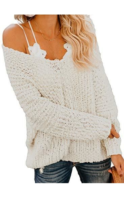 Happy Sailed Off Shoulder Sweater