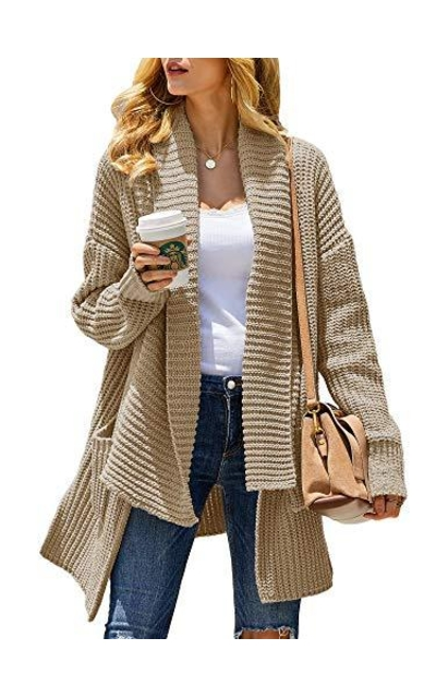 Misassy Kimono Open Front Sweater Cardigan