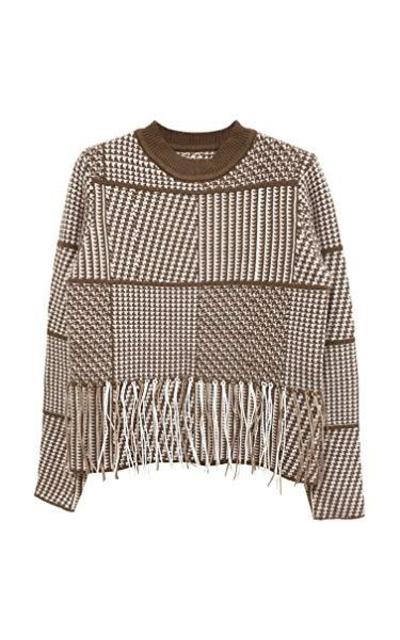 Knit Long Sleeve Bolero Tassel Sweater
