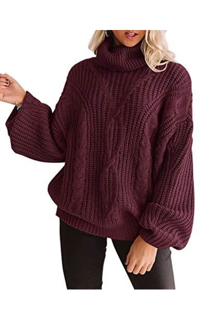 ZESICA Oversized Sweater