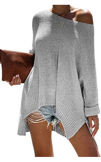 ReachMe Off Shoulder Sweater
