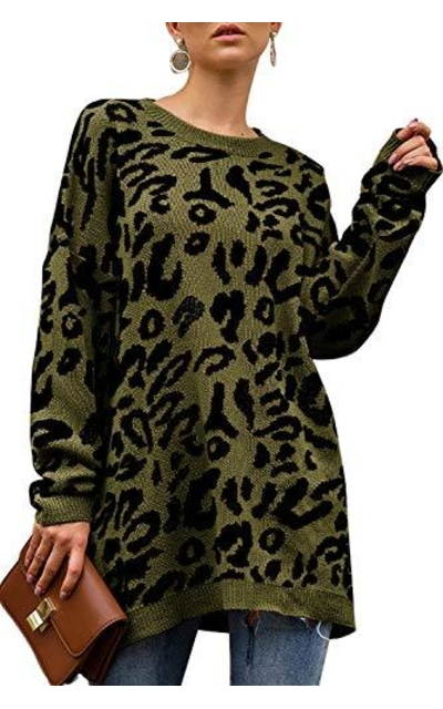 Uniarmoirev Leopard Sweater