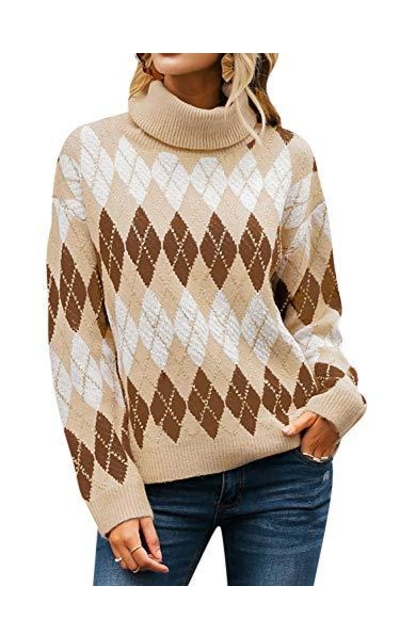 Miessial Turtleneck Sweater