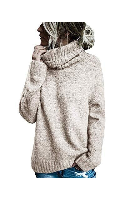 Sherrylily Turtleneck Long Sleeve Knit Sweaters