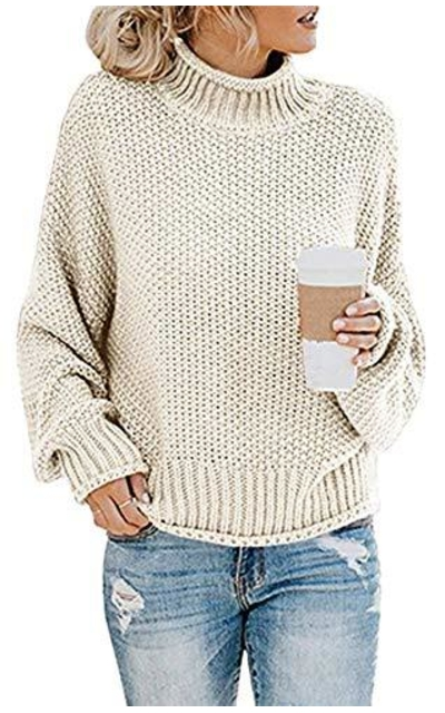 VENCANN Turtleneck Sweater