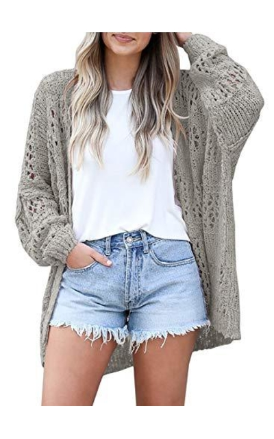 Mafulus Crochet Sweater Cardigan