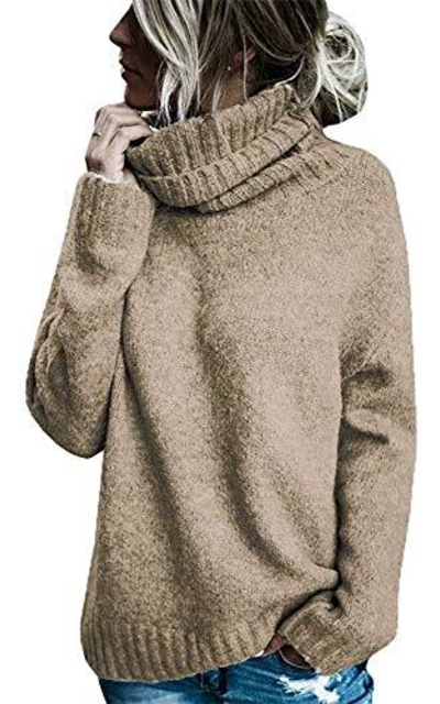 FISACE Oversized Turtleneck