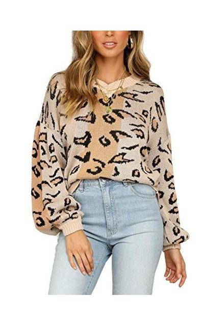 Relipop Leopard Sweater