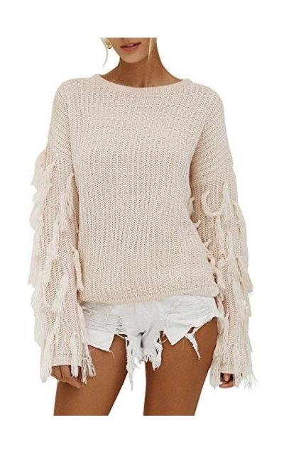 Missy Chilli Tassel Sweater