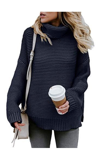 ZKESS Turtleneck Sweater
