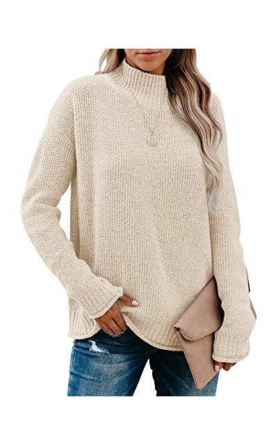 Saodimallsu Turtleneck Oversized Sweater