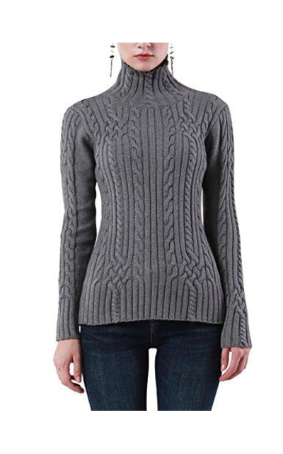 Rocorose Cable Knit Sweater
