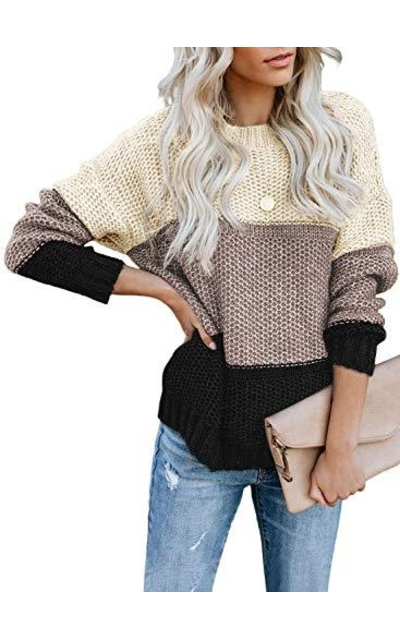 Lovezesent Oversized Chunky Pullover Sweaters