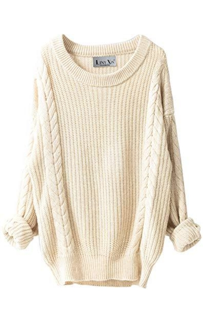 Liny Xin Knitted Crew Neck  Sweater