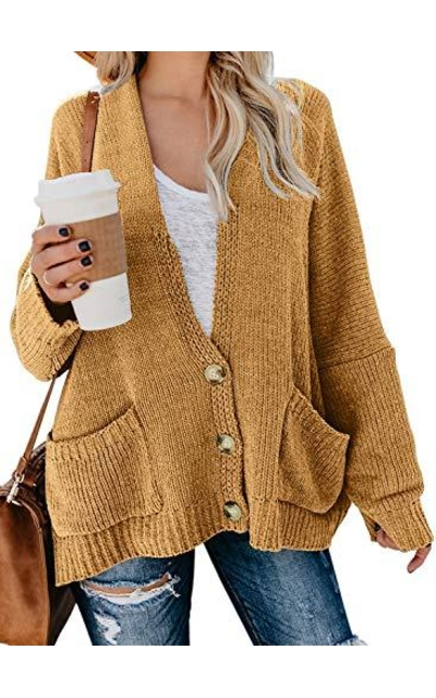 BLENCOT Knit Loose Cardigan Sweater