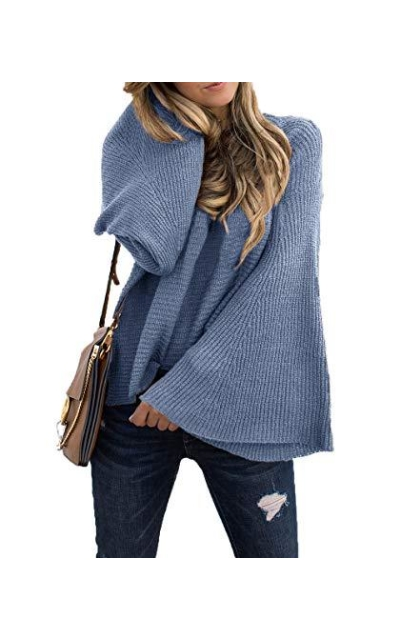 TOTREND Bell Sleeve Sweater