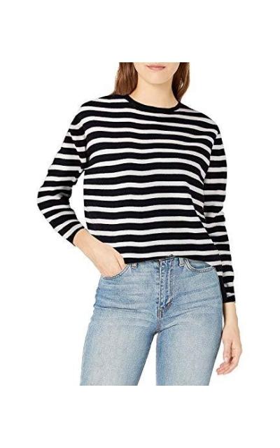 QUALFORT Crewneck Pullover Sweater