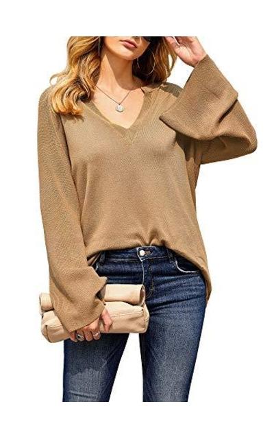 Pxmoda Lightweight Bell Sleeve Knit Sweater