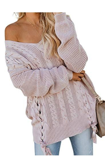 Off Shoulder Cable Sweater
