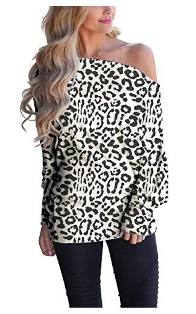 INFITTY Leopard Sweater
