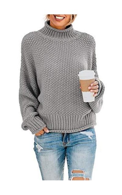 Dokotoo  High Neck Sweater