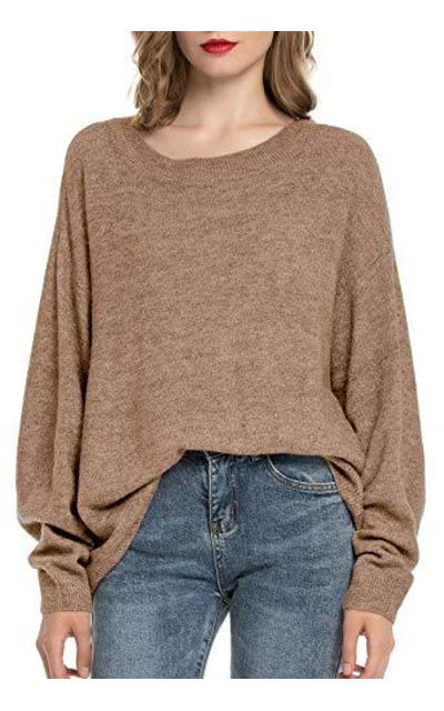 Woolen Bloom Knit Pullover Sweater