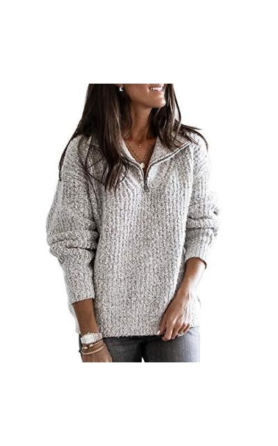 ELF QUEEN Sweater Jacket  Zip Sweater