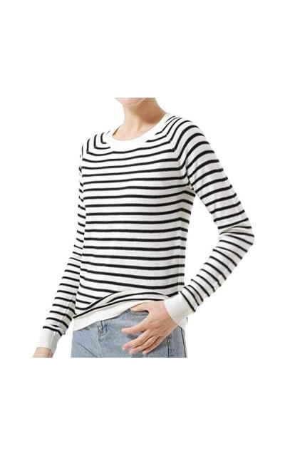 Lightweight Stripe Sweater