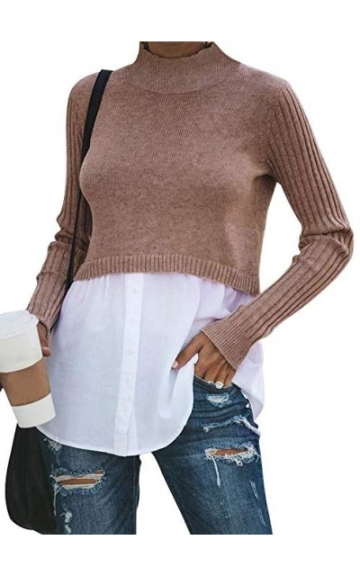 Exlura 2 in 1 Pullover Top
