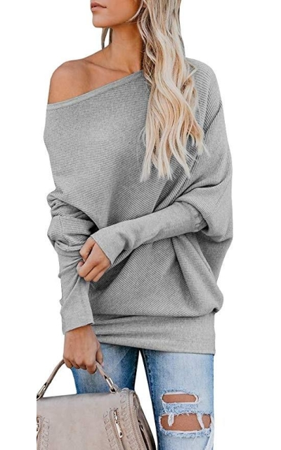 Tutorutor Off The Shoulder Sweater
