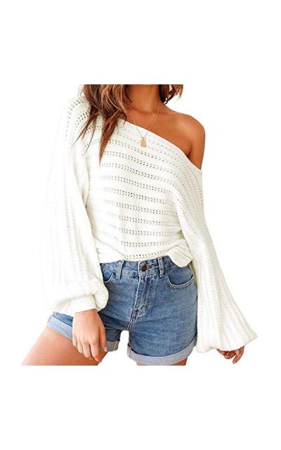 Exlura Off Shoulder Sweater