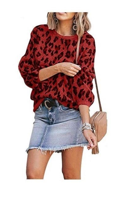 Hirate Leopard Sweater