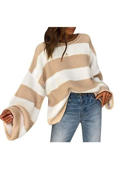 BerryGo Knitted Pullover Sweater