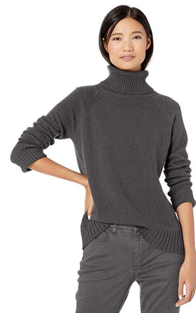 Amazon Brand - Goodthreads Wool Blend Jersey Stitch Turtleneck Sweater