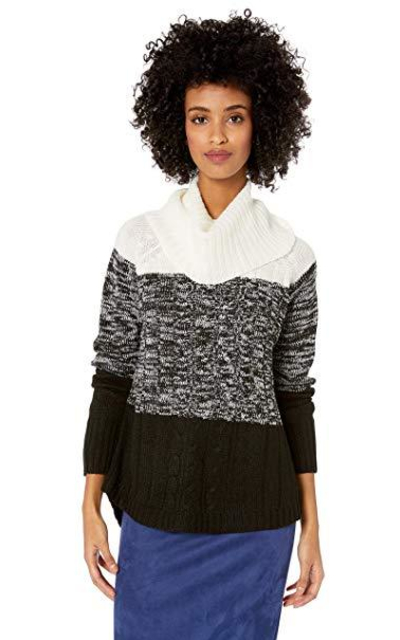 Jason Maxwell Cowl Neck Pullover Sweater