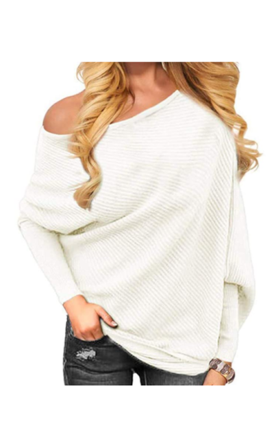 Golden service Off Shoulder Sweater
