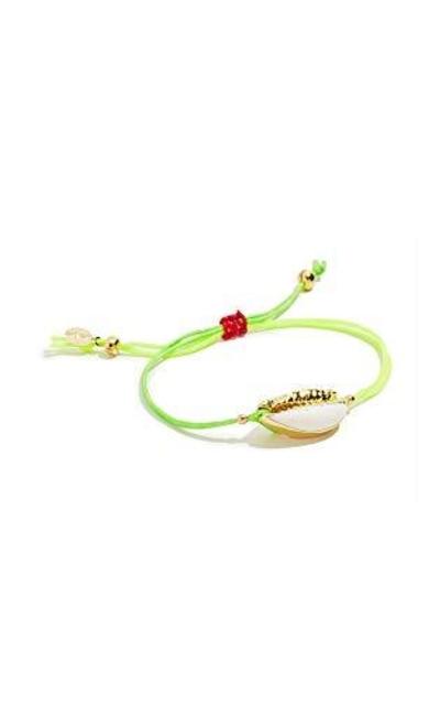 SHASHI Caroline Neon Slide Bracelet