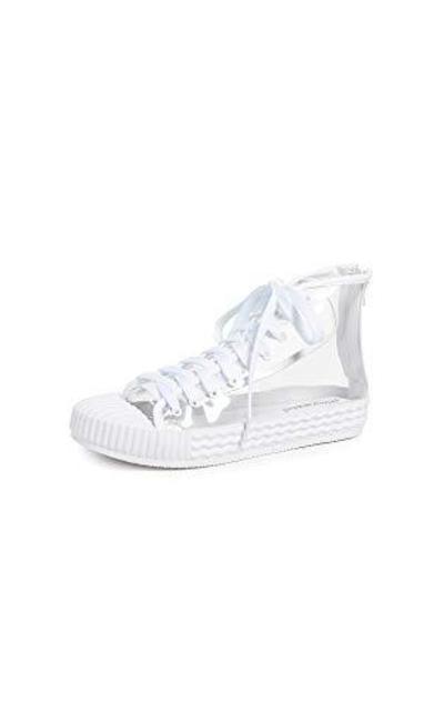 Jeffrey Campbell Ganador Vinyl High Top Sneakers